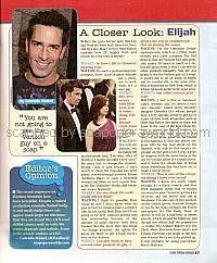Matt Walton (Elijah, OLTL)