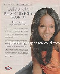 Celebrate Black History Month with Tika Sumpter (Layla on One Life To Live)