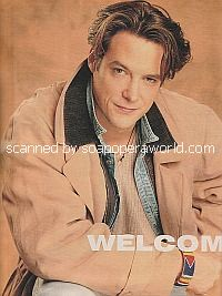Cover Story with Matthew Ashford of Days Of Our Lives - Soap Opera Weekly 1995