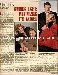 Guiding Light - Vicitmizing Its Women