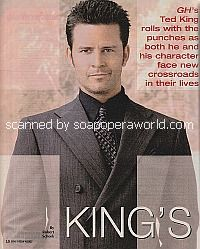 Interview with Ted King of General Hospital
