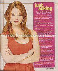 Just Asking with Sarah Glendening (Marissa on All My Children)
