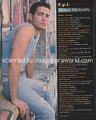 FYI with Jesse Metcalfe (Miguel on the soap opera, Passions)