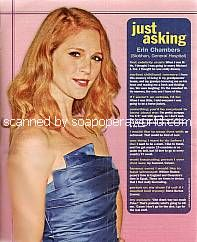 Just Asking with Erin Chambers (Siobhan on General Hospital)