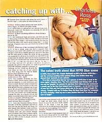 Catching Up with Charlotte Ross (ex-Eve on Days Of Our Lives)