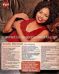 Amelia Marshall (Liz on Passions)