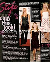 Copy This Look with Alicia Leigh Willis (Courtney, GH)
