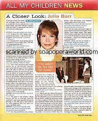 Julia Barr (Brooke, AMC)