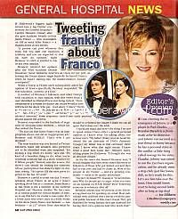 Interview with Carolyn Hennesy (Diane on General Hospital)