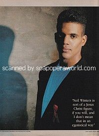 Kristoff St. John of The Young and The Restless