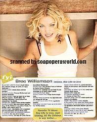 Bree Williamson (Jessica, OLTL)