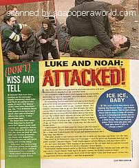 ATWT:  Luke and Noah Attacked!