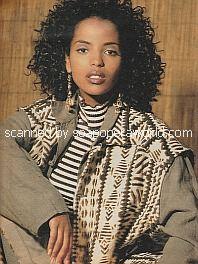 Interview with Senait Ashenafi of General Hospital - Soap Opera Weekly 1995