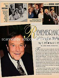 Remembering soap opera legend, Douglas Marland