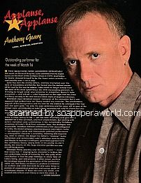 Applause, Applause for Anthony Geary of General Hospital