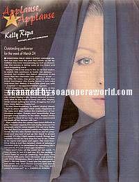 Kelly Ripa (Hayley, AMC)