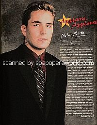 Applause, Applause for Nolan North of Port Charles