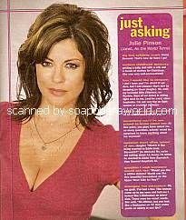 Julie Pinson (Janet, ATWT)