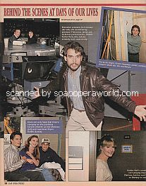 Behind The Scenes at Days Of Our Lives featuring Robert Kelker-Kelly