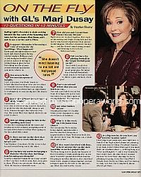 On The Fly with Marj Dusay (Alexandra Spaulding on Guiding Light)