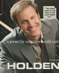 Interview with Jon Hensley (Holden Snyder on As The World Turns)