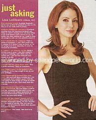 Just Asking with Lisa LoCicero (Olivia on General Hospital)