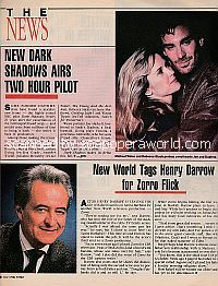 News Section featuring Michael Weiss & Rebecca Staab and Henry Darrow