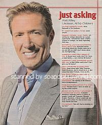 Just Asking with Walt Willey (Jackson Montgomery on All My Children)