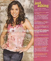 Just Asking with Josie Loren (Kaylie on Make It or Break It)