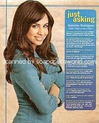 Just Asking with Gabriela Rodriguez (Gabi on Days Of Our Lives)