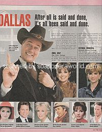 Part Two of The Last Word About Dallas
