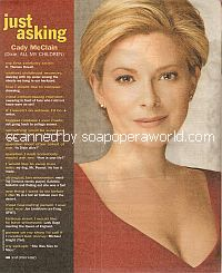 Just Asking with Cady McClain (Dixie on All My Children)