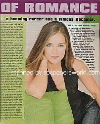 Interview with Rebecca Budig (Greenlee Lavery on All My Children)
