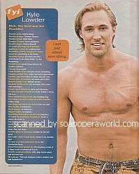 FYI with Kyle Lowder (Rick on The Bold and The Beautiful)