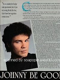 Interview with John Loprieno of One Life To Live - Soap Opera Weekly 1995
