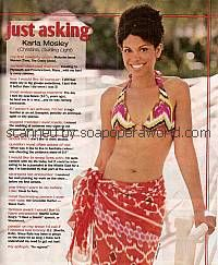 Just Asking with Karla Mosley (Christina on Guiding Light)