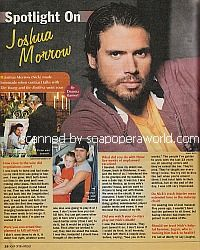 Spotlight On Joshua Morrow (Nick on The Young & The Restless)