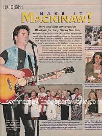 Soap Opera Fan Fair in Mackinaw City, MI - Soap Opera Weekly 1995
