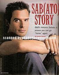 Antonio Sabato Jr. (Dante, B&B)