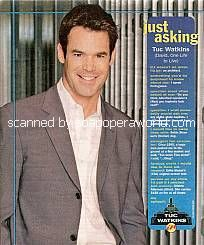 Just Asking with Tuc Watkins (David Vickers on One Life To Live)
