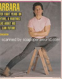 Interview with A Martinez (Cruz on Santa Barbara)