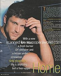 Interview with Greg Vaughan (Lucky on General Hospital)