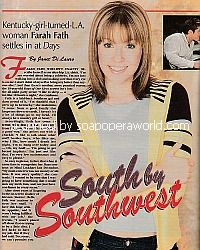 Interview with Farah Fath (Mimi Lockhart on Days Of Our Lives)