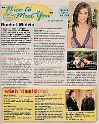 Nice To Meet You with Rachel Melvin (Chelsea on Days Of Our Lives)