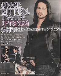 Interview with Michael Easton (John McBain on One Life To Live)
