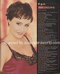 FYI with Kelli McCarty (Beth on the soap opera, Passions)