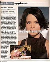 Victoria Rowell (Drucilla, Y&R)