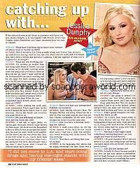 Catching Up with Jessica Dunphy (ex-Alison, ATWT)