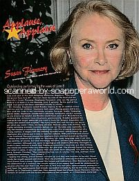 Applause, Applause for Susan Flannery of The Bold and The Beautiful