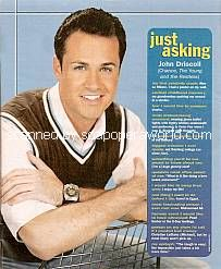 Just Asking with John Driscoll (Chance on The Young and The Restless)